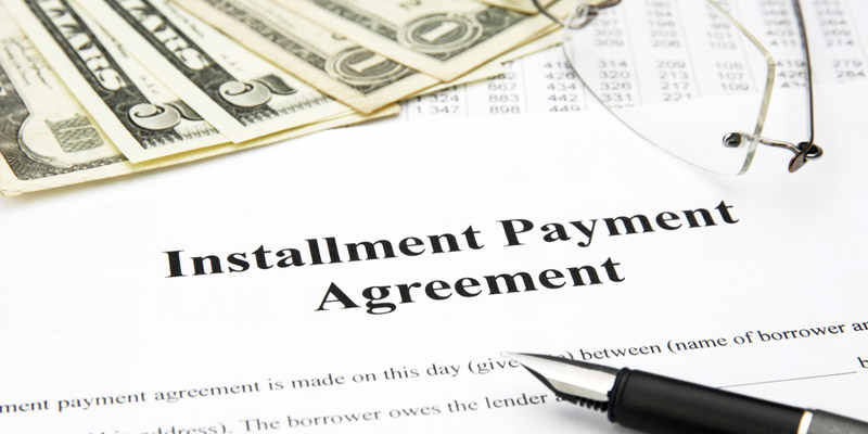 What Situations Will Make You Consider An Installment Agreement