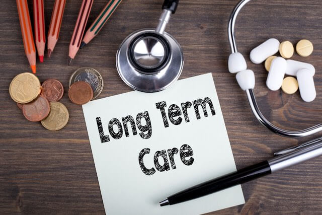 how to save for long term care